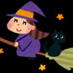 ハロウィン イラスト かわいい 魔女